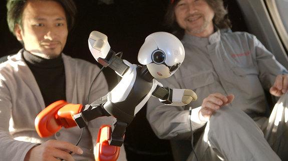 Kirobo teve passar por uma série de testes, incluindo a teste com gravidade zero, para ser aprovado