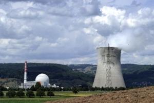 Usina nuclear de Leibstadt, localizada no norte da Suíça