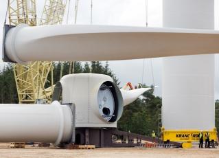 Com potência de 6MW, turbina foi instalada na Escócia