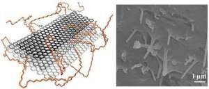 As fitas são muito menos delicadas do que o grafeno puro, e já podem ser feitas com facilidade a partir dos nanotubos de carbono.