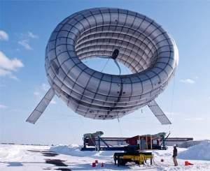 Apesar da sua eficiência, a turbina eólica flutuante não foi projetada para substituir as turbinas convencionais montadas em torres.