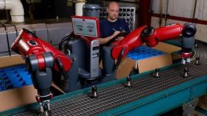 O robô Baxter foi criado para trabalhar na linha de produção
