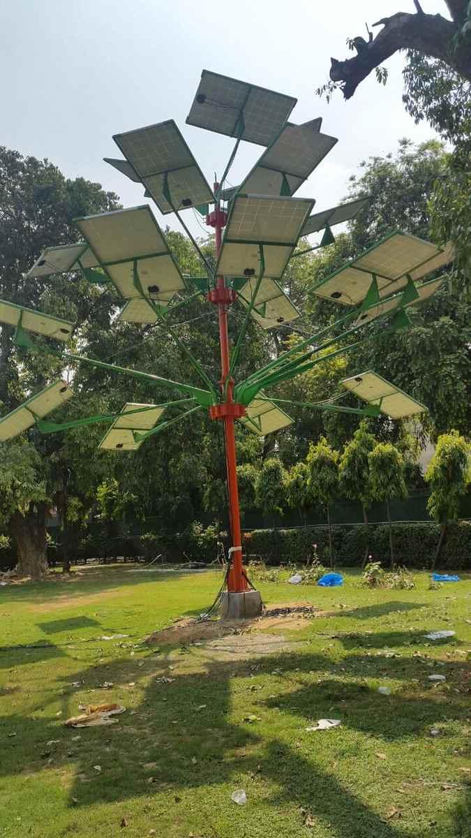 csir-cmeri_designed_solar_tree